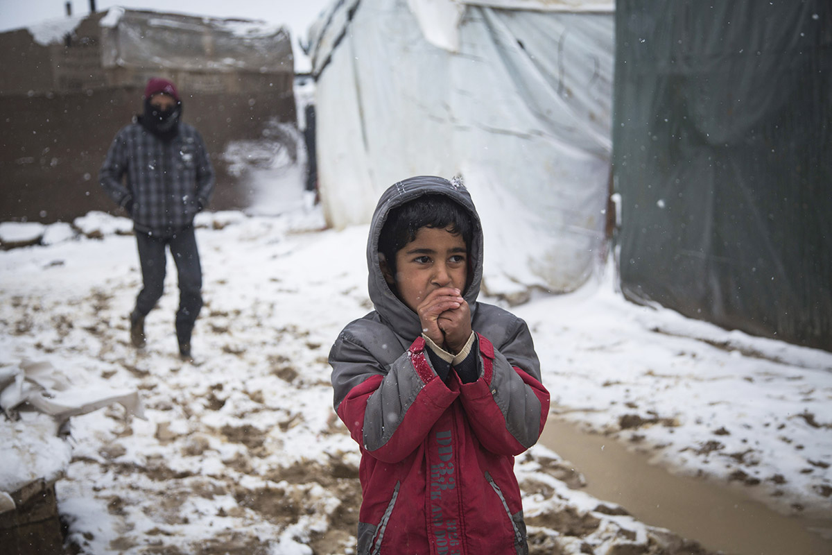 You Can Keep Children Warm This Winter | Donate to Help Refugees